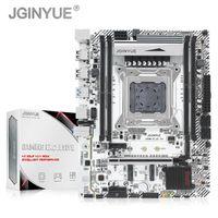 JGINYUE X99 Turbo Motherboard LGA 2011-3 Soporte DDR4 128GB Memoria de RAM Intel Xeon E5 V3V4 CPU M.2 NVME SATA3.0 X99M PLUS D4