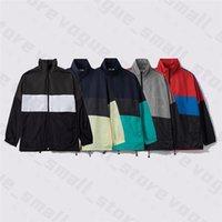 Nuovo 20SS Sottile rivestimento a vento Cappotti Pattern Mens Donne Designer Giacche classiche Abbigliamento invernale Abbigliamento Abbigliamento Abbigliamento Felpa con cappuccio di lusso