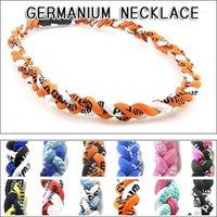 Германиевое титановое ожерелье из бейсбольного ожерелья Корея Мода Спорт Титана Энергия сплетенный Унисекс Немецкий1