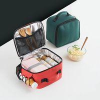 Pacchetti di ghiaccio / sacchetti isotermici Borsa da picnic termica portatile per le donne Kids Men Thermo Pranch box Cooler caldo isolato