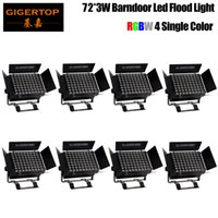 Freeshipping 8 unità LED Wall Washer 72x3W RGBW LED della lampada LED della lavata di parete della luce di inondazione IP20 colorazione Light Bar Alluvione Barn porta luce 4in1