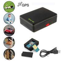 Mini Global A8 GPS تعقب جهاز تتبع محدد المواقع العالمي مع الوقت الحقيقي GSM / GPRS / GPS الأمن المقتفي أطفال