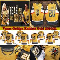 29 Marc-Andre Fleury Vegas Golden Knights 2020 골드 셋째 저지 Reilly Smith Paul Stastny Stephenson Merrill William Karlsson McNabb Stone