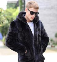 Мужская траншея пальто из искусственного шуба для мужчин зимняя теплая куртка с длинным рукавом пальку Parka Expresswear1
