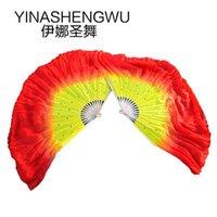 Estágio desgaste mulheres de alta qualidade seda chinês ventilador de dança ventilador curto multi estilo
