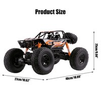 1:10 48cm 18.9inch RC Cars 2.4G Radio Control 4WD Off-road Electric Vehicle Monster Remote Control Car Gift Boys Children Toys