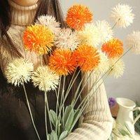 Декоративные цветы венки 5 вилок 72см шелковый гиацинт цветок искусственный одуванчик свадебное украшение для домашней вечеринки эль садовые украшения