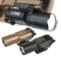 500 루멘 높은 출력 전술 x300 울트라 빛 x300u 전술적 인 라이트 Lanterna 손전등 1911 야외 사냥을위한 빛