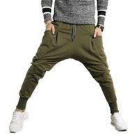 Uomini Cross Pants Casual Elastic Cotton Mens Allenamento fitness Allenamento BAGGY PANTALINI Skinny Sweatspants Pantaloni Pantaloni a matita Jogger Pantaloni 5XL 201222