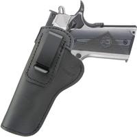 IWB-Leder-Holster für Innere der Taille Band verborgene Carry Fits: 1911 Pistolen-Regierung (5 Zoll) -Commander (4,25 Zoll)