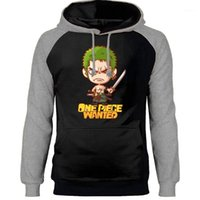 Erkek Hoodies Tişörtü Japon Anmie Tek Parça Kral İstenen Raglan Crewneck Kazaklar Eşofman Harajuku Streetwear1