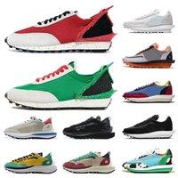 Горячая мода под прикрытием красных зеленых мужских кроссовки Sacais LDV вафельный нейлон белый Dio Chunky Dunky Trainsies 2020 Pegasus Caporf кроссовки