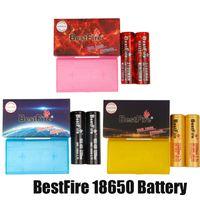 100% Original best Free BMR IMR 18650 Batterie 3100mAh 3200mAh 3500mAh Wiederaufladbare Lithium Vape Box Mod Batterie Echt mit Verpackung