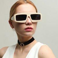 2020 Тенденции Горячие продукты Desiner площади Увеличенные черные очки Оттенки Женщины Femenino Punk Clout Luxury Охладить Quay Градиент