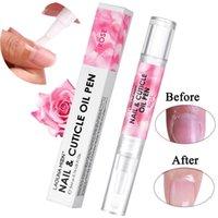 Lagunamoon 5ml Rosa odore di rosa Assorbimento rapido assorbimento del chiodo dell'olio Dead Skin Skin Skin Rimover Ammorbidimento Cuticle Trattamento per unghie Nutri Delle dita dei piedi