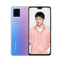 "Original Vivo S7 5G Mobiltelefon 8 GB RAM 128 GB 256 GB ROM Snapdragon 765g Octa Core 64.0mp Arot otg NFC Android 6.44 ""Full Screen Fingerabdruck ID FACE WACK SMART Mobiltelefon"