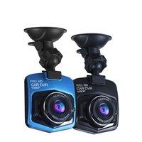 Novo carro 1080p carro DVR Dashcam com proteção de placa de circuito GT300 gravador de vídeo G-sensor noite visão câmera