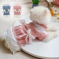 Dulce mascota ropa para perros para perros pequeños gatos shih tzu yorkshire disfraces abrigo chaqueta suéter princesa mascotas sqcbvl