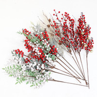 Berry Cone For Christmas Decoration Fake Flower Artificial P...
