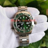 2 цвета наручные часы BP Factory 116610 40 мм керамический HULK нержавеющая сталь хорошего 2813 Движение механические автоматические мужские часы мужские часы