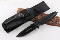 faca de lâmina Alemanha vigor Pohl reta fixa D2 60HRC G10 alça faca de caça ferramentas multi xmas faca presente para homem 04929