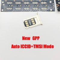 GPP Double-sim Unlock Card for iOS 13.x 14 all iPhone and GSM WCDMA LTE 4G Auto Pop-up Menu Turbo Sim Gevey