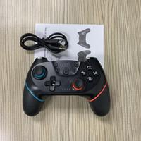 Üst Bluetooth uzaktan kablosuz titreşim 6 eksenli hareket algılama Nintendo için oyun kumandası kolu joystick için denetleyici Pro konsolu açın