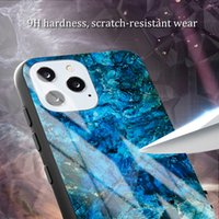 Lens Koruma Anti Olgular Gözetleme Moda Mermer Temperli Cam Uygun Cep Telefonu Kılıfı Manyetik Absorpsiyon iPhone 11 Pro Max XR X XS 6 7