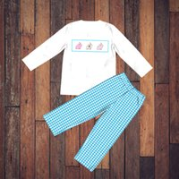 Baby Boys Suit Clothes Newborn Infant Sets Baby Boy Clothes Outfit Clothes Easter Autumn Spring Toddler set Children Outfits T200706