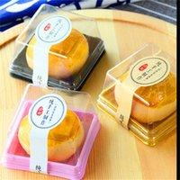 50g Moon Cake Trays Moon Cake Boxing Boxes Box Gold Black Plastic Bottom Cover trasparente 176 G2