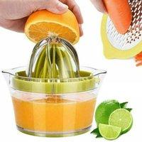 الشحن المجاني المصنعين المبيعات المباشرة البرتقال عصارة الليمون دليل اليد عصارة اليد قياس كوب ومتعاوني المحمولة