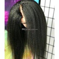 غلويليس الحرير أعلى غريب مستقيم شعر الإنسان الباروكات للنساء السود 5 * 4.5 الحرير قاعدة الباروكات الدانتيل الكامل مع شعر الطفل