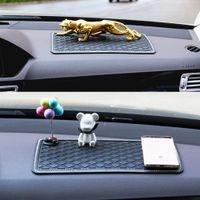 Противоскользящий коврик для телефона в автомобильной приборной панели Chrinsto не скользящий коврик для скольжения гаджет липкий коврик панель MATA фиксируется