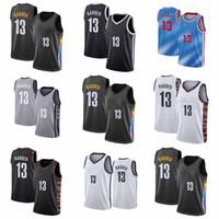 Jerseys de basquete James HardenBrooklyn.Nets James.Harden Core Players Bordado Swingmen Sew Jersey