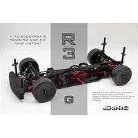SNRC 120002 R3-G 1/10 Standard-Glasfaser-Mitte Elektrischer Raumrahmen 4WD 201226