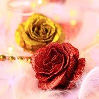 Декоративные цветы венки красивые мыльные цветок с светодиодами розовые подарки для годовщины свадьбы1