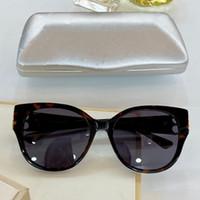 0103SA المرأة النظارات الشمسية إطار فراشة أعلى لوحة نظارات الإطار الكامل مطعمة بالماس النظارات الكلاسيكية الأنيقة UV400 مربع حزام وقائي