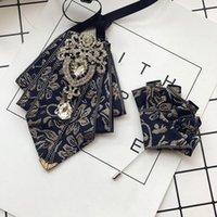 Boyun Ties I-Remiel Erkekler Tasarımcılar Moda Resmi Erkek Düğün Papyon Gömlek Elbise Smokin Yaka Bowtie Aksesuarları için Broş