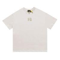 21SS INS Hot Spring Summer Hip Hop FG 7th Flocking Print TEE Skateboard Tshirt Uomo Donna Manica corta T shirt casual