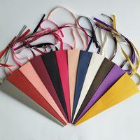 Einzelne Blume Packing Karton Valentinstag Rose Kegel Paper Boxen Bänder Transparente Geschenk Wrap Casket Multi Color 0 85xd G2