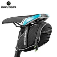 Rockbros Bike Torba Mountain Road Saddle Torby 3D Shell Quakoodpors Cycling Tylne Siedzenia Pagiery Akcesoria rowerowe