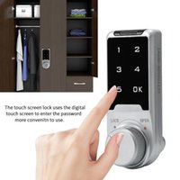 Digital Number Code Lock for File Cabinet Electronic Combination Password Touch Screen KeypadHome Cabinet Lock
