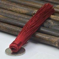12pcs lot chino nudo borlas de seda franja flequillo flor tassel adornado borlas decorativas para cortinas decoración del hogar accessorie h jllmqd