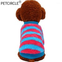 2018 petcircle جودة عالية كلب الملابس مخطط الكلب هوديس ل chihuahua يوركي شنوار بيتبول لينة الملابس قميص 1