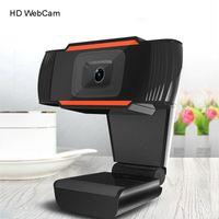 HD 1080P AUTO FOCUSING Webcams PC Mini USB 2.0 webcam Web con microfono computer per live streaming webcam