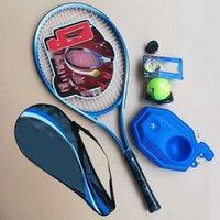 مجموعة مضرب تنس ذات جودة عالية مع حقيبة تنس + كرة تنس مع سلسلة + تي 2021 منتج جديد لإطلاق جودة المنتج