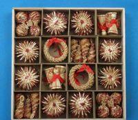 밀 장식품 세트 장식 장식 크리스마스 빨 대 짠 축제 장식 크리스마스 판매 ZGOX # 트리 온라인 sqcsw