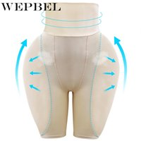 WEPBEL 높은 허리 Fengye 스폰지 패드 반바지 팬티 여성 Shapewear 배가 통제 중반 허벅지 바디 셰이퍼 바디 수트 Shaping Y200706