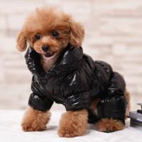 Ciepłe ubrania dla buldog francuski buldog mops chihuahua yorkies odzież zima pet puppy płaszcz kurtka pobyty odzież ropa perro ottie