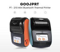 Goojprt PT-210 Wireless-Minidrucker PT 210 58mm tragbaren Drucker Thermo-Beleg für Handy Windows Pocket Bill